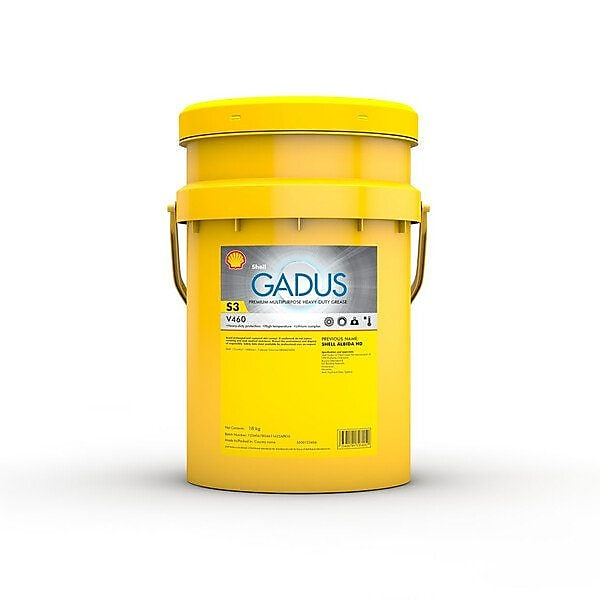 Grease oil applied in construction equipment