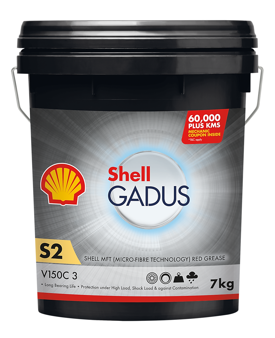 Greases oils, Shell Gadus
