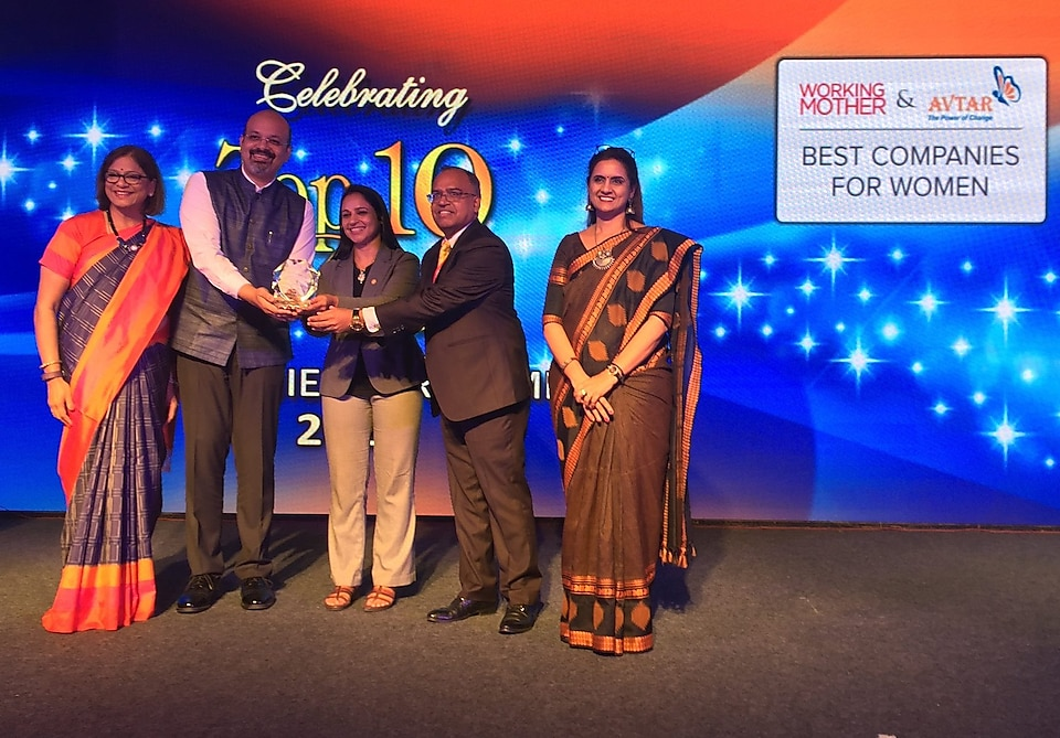 Shell awarded among best companies for women in India
