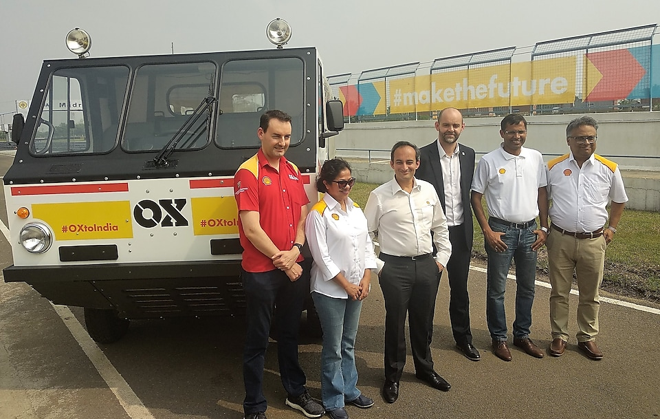 Shell India launches the Ox Truck